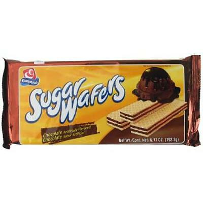 New 300302  Gamesa Sugar Wafer 6.8 Oz Chocolate (12-Pack) Wafers Wholesale