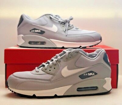size 40 1fbfd 7d3f0 Nike Air Max 90 Women s Shoes Athletic Sneakers Wolf Grey White 325213-048