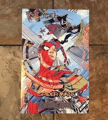 SPIDER-MAN HOMECOMING 11x17 Original Promo Movie Poster CINEMARK IMAX EXCLUSIVE