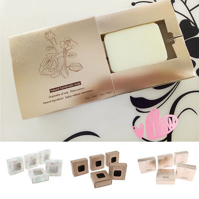 5x Handmade Soap Candy Tea Packaging Paper Boxes for Wedding Favors Birthday