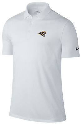 Nike Los Angeles Rams Victory Solid Polo White Size SMALL Brand New with  Tags 165108db8