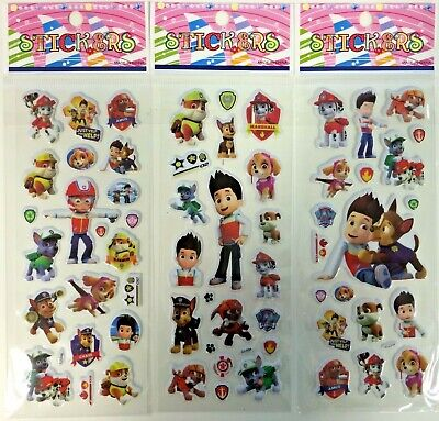 games Party Bag Fillers Birthday party favours 5  x POKEMON  Sticker strips