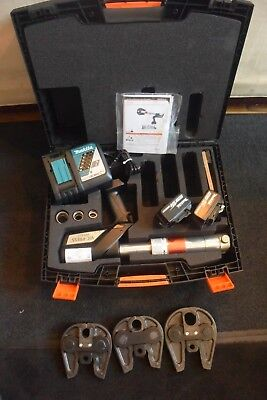 "Victaulic Hydraulic Crimper Set PFT510 Actuator 3 Jaws 1/2"", 3/4"", & 1"" CLEAN!!"