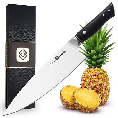 Chef Kitchen Knife - Professional 9 inch – Foxel LYNX Series Chefs Knives Combin
