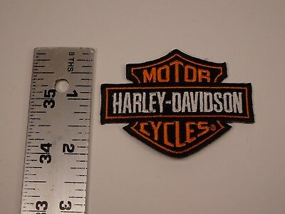Harley Davidson Motorcycles Small Patch Bar Shield