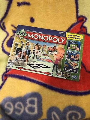 My Monopoly board game, sealed.
