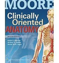 Clinically Oriented Anatomy 7th ed. Paperback by Keith L. Moore  121818