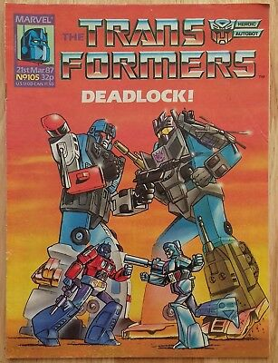 UK Transformers Comic Issue 105