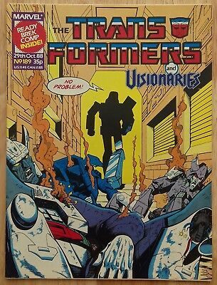 UK Transformers Comic Issue 189