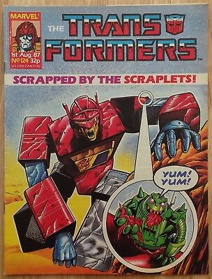 UK Transformers Comic Issue 124
