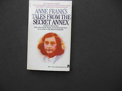 Anne Frank's Tales from the Secret Annex (1983, Paperback)