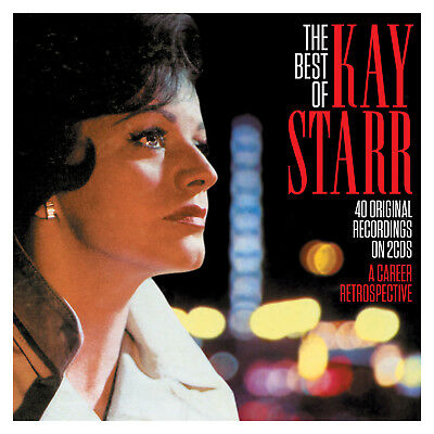 Kay Starr BEST OF 40 Original Recordings ESSENTIAL COLLECTION New Sealed 2 CD