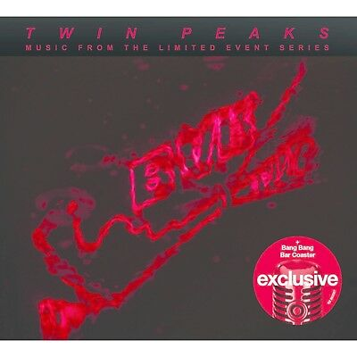 TWIN PEAKS: MUSIC FROM THE LIMITED EVENT SERIES (CD 2017, Target Exclusive) NEW