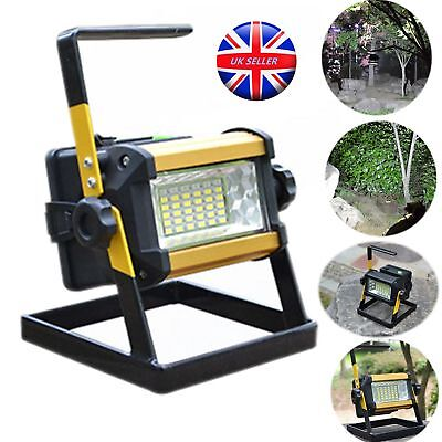 50W Rechargeable 36 LED Portable Outdoor Camping Flood Light Spot Work Lamp