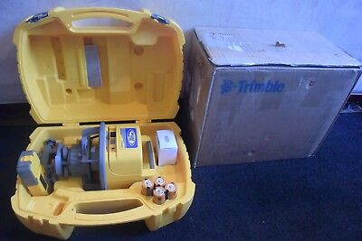 Trimble Spectra Precision Rotary Laser Model LL500 Detector HL700 USED 1 TIME