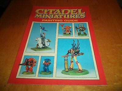 Complete Guide to Painting Citadel Miniatures Warhammer 40k Game Workshop 40,000