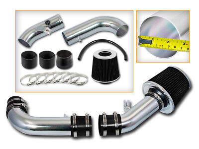 BCP BLACK 99-05 Mazda Miata MX5 MX-5 1.8L Ram Air Intake Induction Kit + Filter