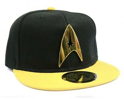 Brand new Officiel Jaune Star Trek Starfleet Command Jaune Casquette Réglable Chapeau