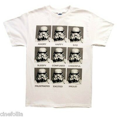 T-shirt Star Wars Stormtrooper expressions Aujourd'hui Je Suis pull homme