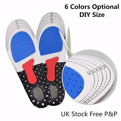 Silicone Support Shoe Pads Gel Orthotic Plantar Care Insert Insoles Cushion UK J