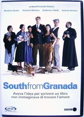 DVD South From Granada de Fernando Colomo 2003 Usado