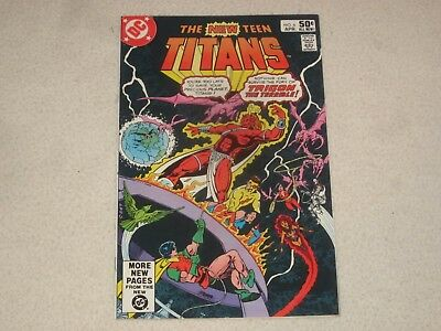 The New Teen Titans 6 Vf Signed By Marv Wolfman!!!