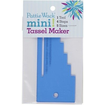 "Pattiewack Designs Mini Tassel Maker 5.5""x2.5""-"