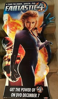 Fantastic Four Movie Stand UP Display - Marvel Comics - Jessica Alba Chris Evans