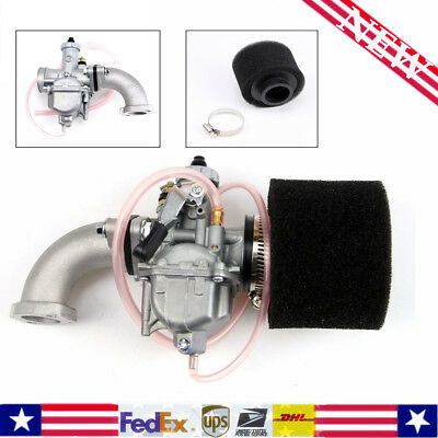 VM22 Carburetor 26mm Carb Filter Intake Pipe Fit 110cc 125cc 140cc Pit Dirt Bike