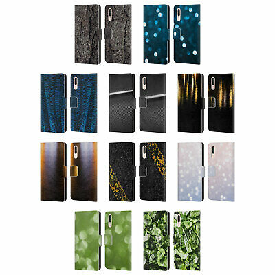 Official Pldesign Abstract Photography Leather Book Case For Huawei Phones