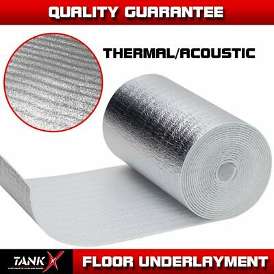 3-in-1 3mm Precut Underlayment Flooring Blocker For Laminate Contractor Barrier