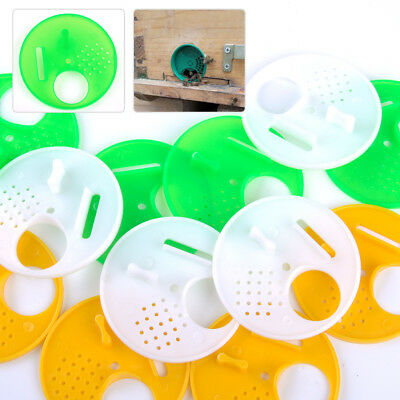 12PC Plastic Beekeepers Bee Hive Nuc Box Entrance Gate Beekeeping Equipment Tool