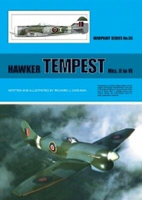 Warpaint Series No.055 - Hawker Tempest MKs.II to VI, 32pp. (Book)