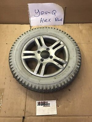 You q Alex rwd wheelchair Parts Drive Wheel And Solid Tire