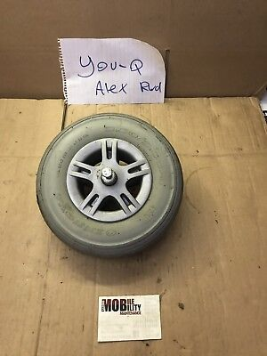 You q Alex rwd wheelchair Parts  Front Castor Wheel Solid Tire