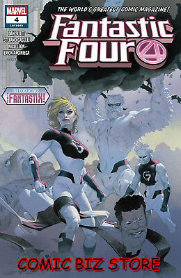 Fantastic Four #4 (2018) 1St Printing Ribic Main Cover Bagged & Boarded Marvel
