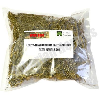 Wild Harvested Leuzea-Rhaponticum Carthamoides Maral Root From Altai 100 Gms