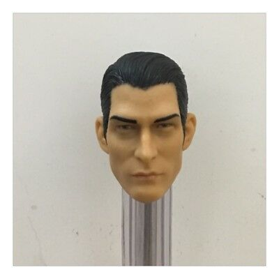 "[1:6 Scale Head Carving] Hot Toys Action Figure Head Sculpt For 12"" Male Doll"