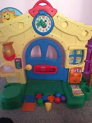 4479eac1d FISHER PRICE LAUGH and learn house door interactive baby toy musical ...