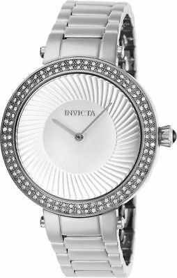 27002 Invicta 38mm SWISS Women's Specialty Stainless Steel Band Quartz Watch