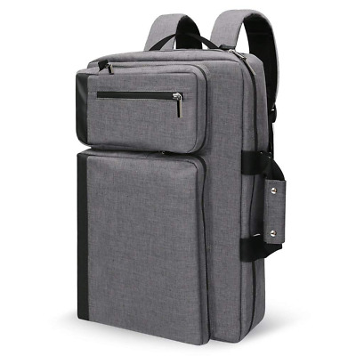 Convertible Laptop Backpack, Water Resistant & Anti-Theft w/USB Charging Port US