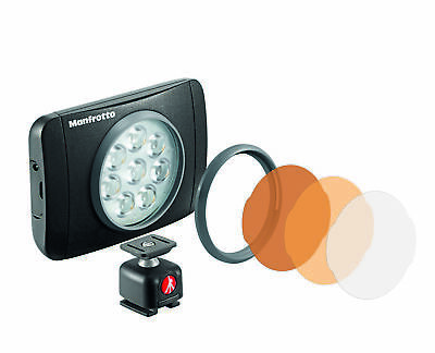 Manfrotto Lumimuse Light for Camera with 8 LED Diodes plus Filter Kit