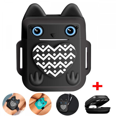 For Apple Airpods Case Skin, Accessories Cover Cute Owl Design Shock Resistant
