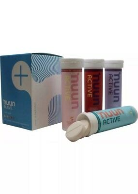 Nuun Active Hydration Tablets Mixed 4 Tubes -4 Flavors NEW