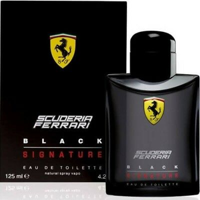 Ferrari Scuderia Ferrari Black Signature 125ml