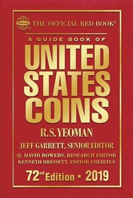2019 Official Red Book of United States Coins - Hardcover The O... 9780794845674