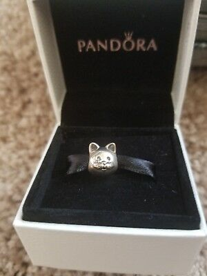 New Authentic Pandora Curious Cat Charm 791706 Kitten 26 99