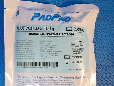 ConMed PadPro Adult / Child 10kg Radiotransparent Electrode # 2001P-C (Exp: 2021