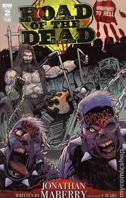 Road Of The Dead Highway To Hell (IDW) #2B 2018 VF Stock Image