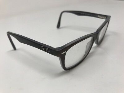 1aa2cddef12 RAY BAN EYEGLASSES RB5228-5076 Brown Gray Frame 50-17-140mm DL05